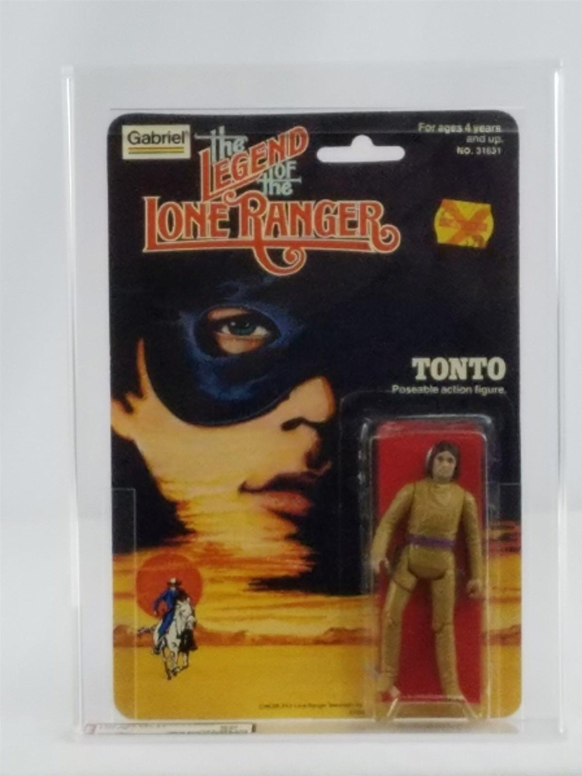 THE LEGEND OF THE LONE RANGER TONTO 1980 GABRIEL NM AFA 80