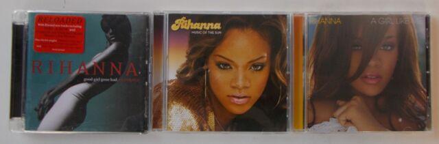 Rihanna (Music of the Sun, a Girl Like Me, Good Girl Gone Bad: Reloaded) 3 CD