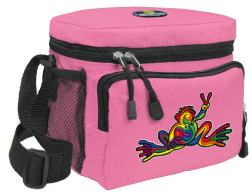 Peace Frog Lunch Bag Peace Frogs Lunchboxes /& Coolers Girls /& Women