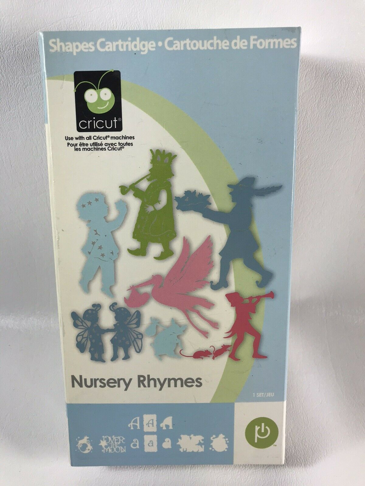 CRICUT /' NURSERY RHYMES /' Shapes CARTRIDGE 200-0103 For all Cricut Machines