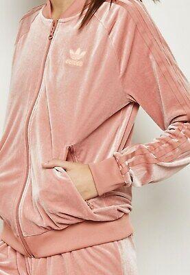 Adidas Originals Samt VIBES DAMEN VELOUR Track Jacket raw