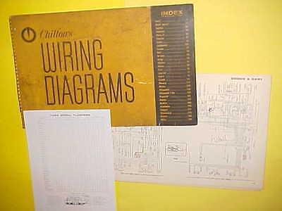 1958 1959 1960 1961 1962 1963 Dodge Royal Dart Convertible Wiring Diagrams Ebay