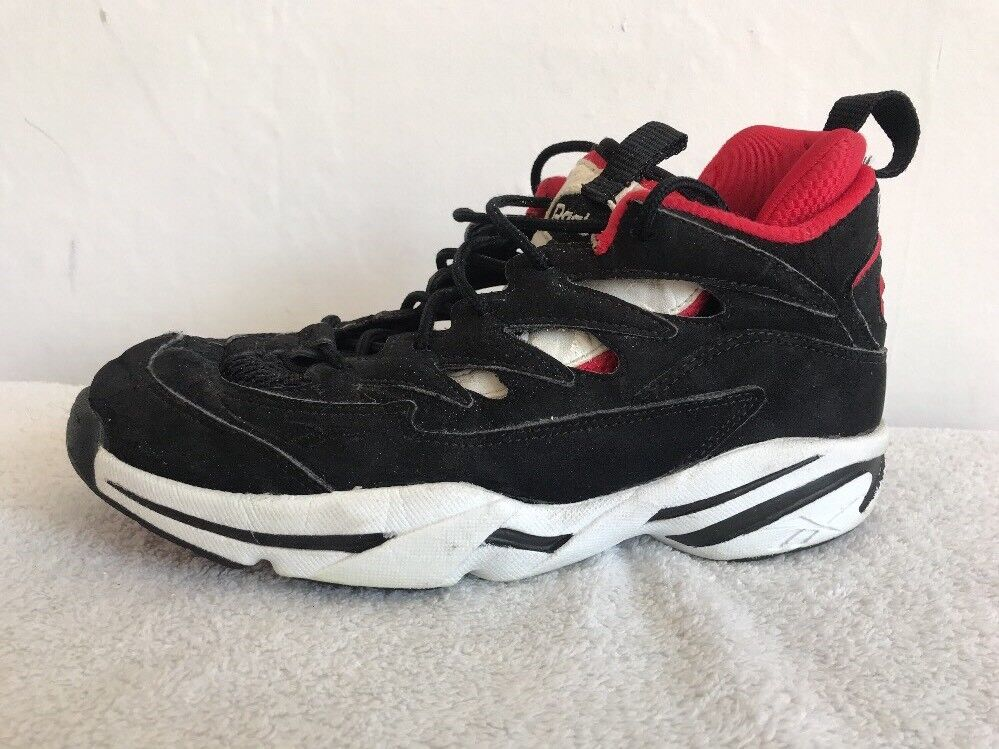 Size 7 REEBOK Hoop Axiom Mid Top Basketball Trainers Sneakers Lace Up 4-27547
