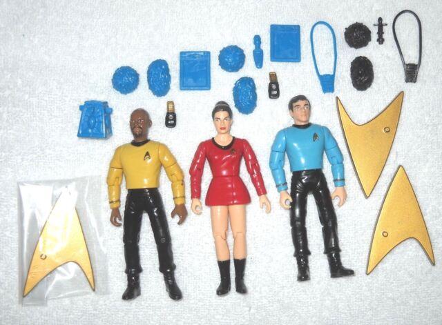 Sisko & Dax & Bashir (vintage uniforms) - Star Trek Deep Space Nine - 100%