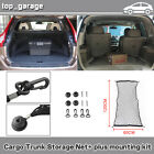Universal Car Trunk Rear Cargo Organizer Storage Nylon Net + plus mounting KIT