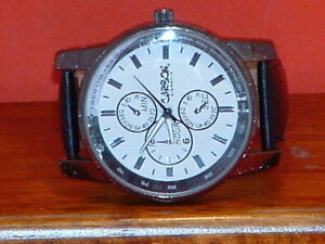 Pre-Owned-Men-s-Carbon-Elements-Tachymeter-Sports-Watch