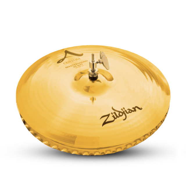"Zildjian 20554 15"" Custom Mastersound Hi Hat Top - Hi-Hats & Drumset Cymbal"