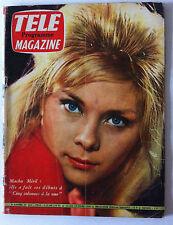 TELE MAGAZINE du 03/1960; Macha Meril/ Nikita Khrouchtchev/ Squaw Valley