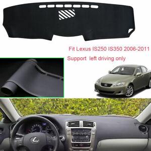 Fits Lexus LS 2007-2012 Sedona Suede Dash Board Cover Mat Black