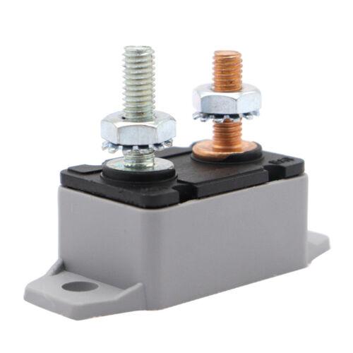Circuit Breaker Battery Fuse Automatic Reset Car Boat 30A 12V//24V