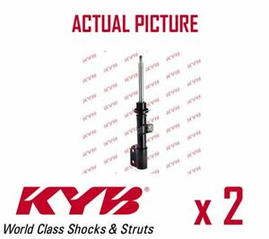 2-x-FRONT-AXLE-SHOCK-ABSORBERS-PAIR-STRUTS-SHOCKERS-KYB-OE-QUALITY-334961