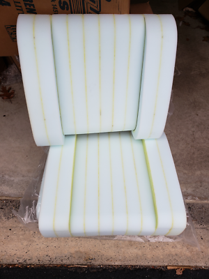 Mopar 68-69 Charger Road Runner Barracuda Dart GTX  Bucket Seat Foam-PAIR