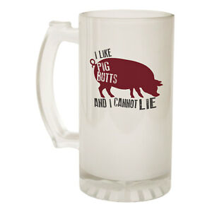 Home & Garden Beer Stein Its-all-good-pig Funny Novelty Christmas Birthday Pint Glass Bar Tools & Accessories