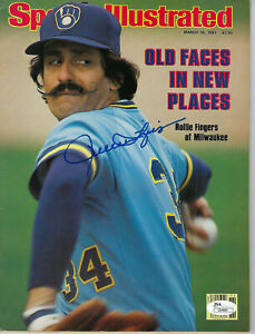 1981-BREWERS-Rollie-Fingers-signed-Sports-Illustrated-magazine-JSA-COA-AUTO-SI