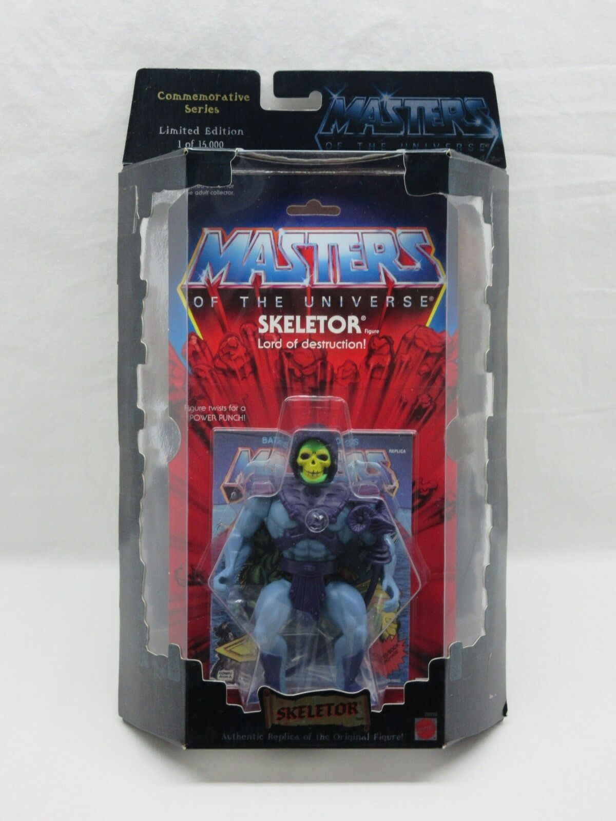 MOTU,Commemorative SKELETOR,MISB,sealed,Masters of the Universe,MOC,He-man
