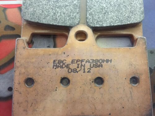 EBC Extreme Pro Brake Pad Set for Yamaha R6 R1 FZ1 EPFA380HH