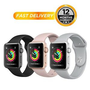 Apple Watch Series 3 38mm & 42mm  All Colours  Aluminium Case