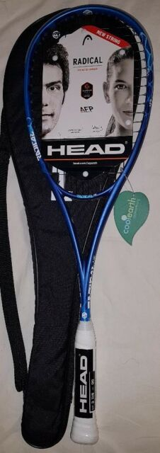 NEW HEAD Graphene touch Radical 145 Squash Racquet