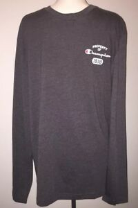 1b3a7980 Champion Men's Classic Jersey Long Sleeve Graphic T-Shirt XL | eBay