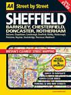 Street Atlas Sheffield Mid by AA Publishing (Paperback, 2004)