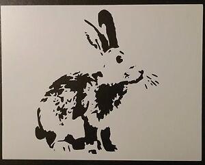 "Bunny 8.5/"" x 11/"" Custom Stencil FAST FREE SHIPPING"