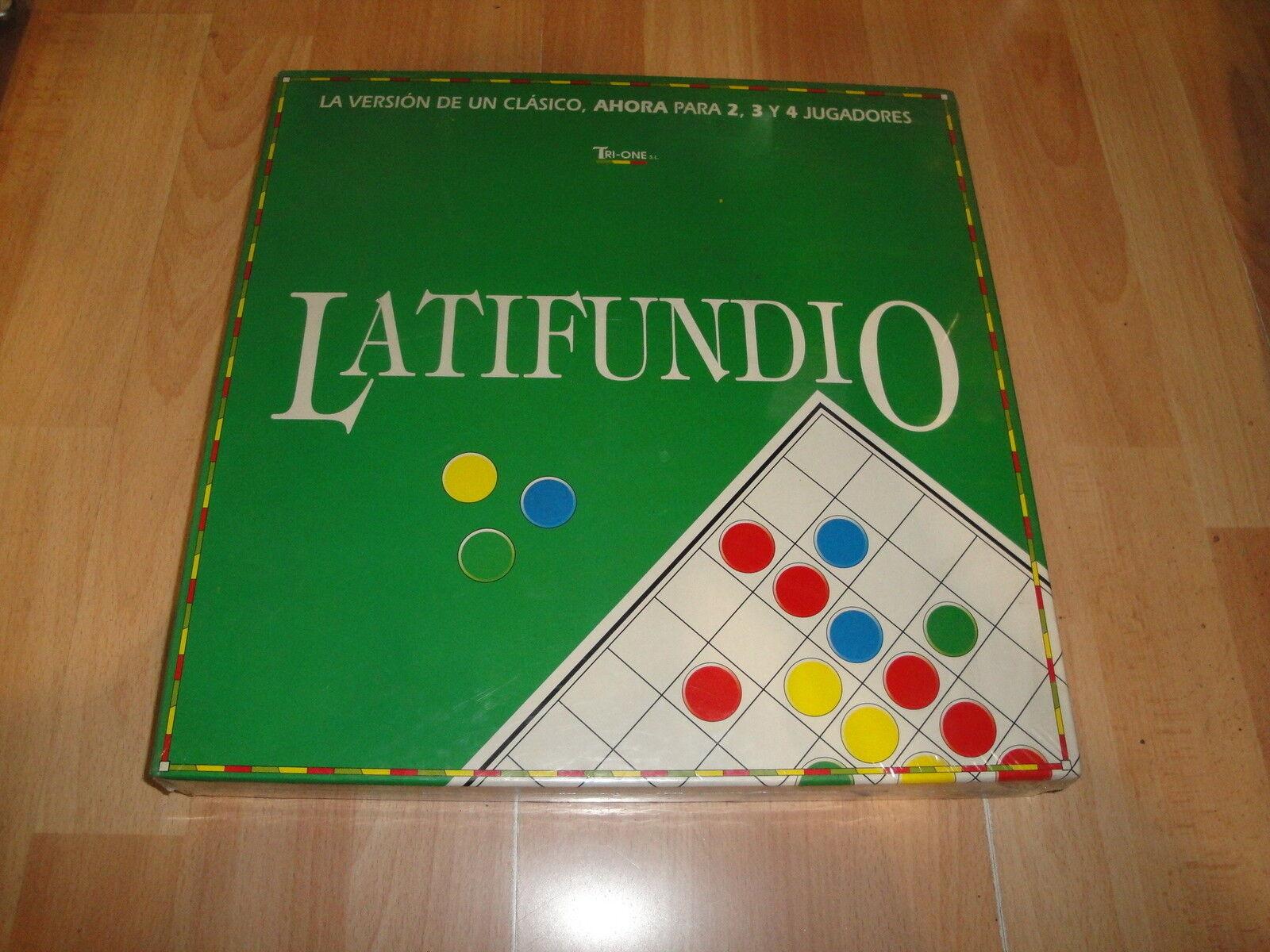 Latifundio juego de mesa de nuevo precintado pasos) de tri-one s.l.
