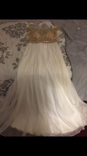 Long White Prom Dress
