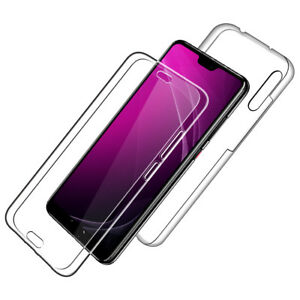 SDTEK-Huawei-P20-Pro-Case-360-Full-Cover-Silicone-Front-Back