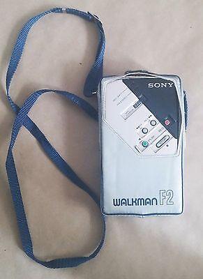 SONY F2 Walkman & Radio - Original Case - 1982 - Very Rare