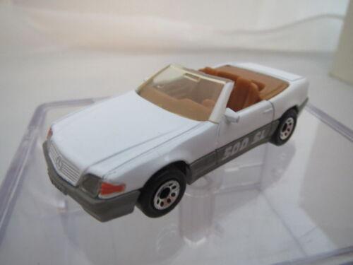 made en tailandia Matchbox mercedes benz 500 SL 1990 top!