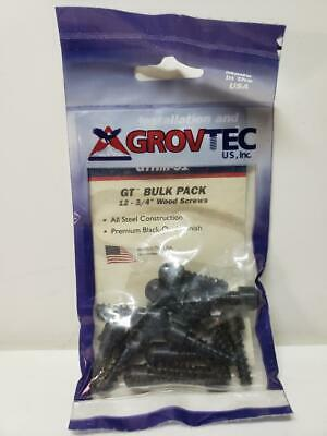 "Grovtec GTHM-51 Bulk 3//4/"" wood screw stud"