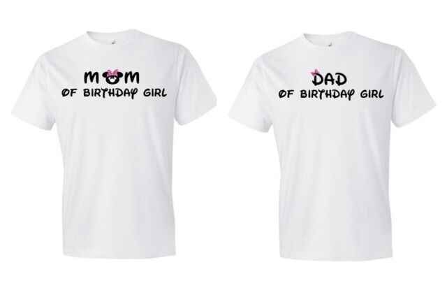 c34949d58 Minnie Mouse Personalized Birthday Shirt Pick Dad or Mom of Birthday Girl  414 | eBay
