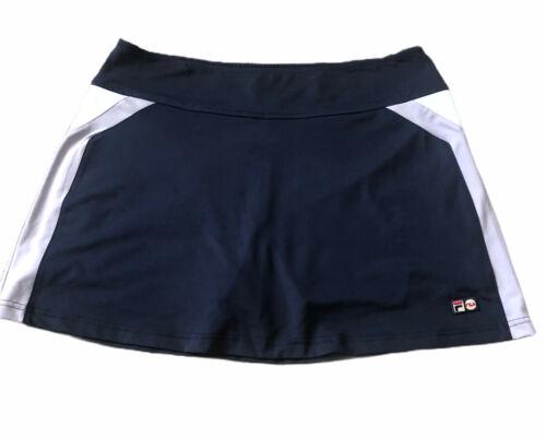 Fila Y2k Sport Performance Athletic Skirt Shorts N