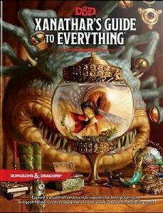 NEW-Xanathar-039-s-Guide-to-Everything-By-Wizards-RPG-Team-Hardcover-Free-Shipping