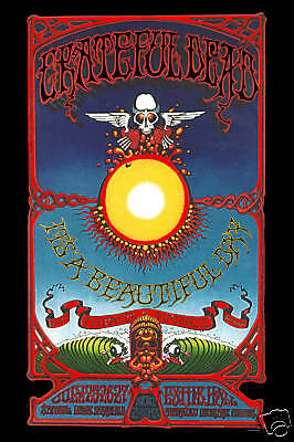 Psychedelic: The Grateful Dead in Hawaii Concert Poster 1969 Large 24x36 |  eBay