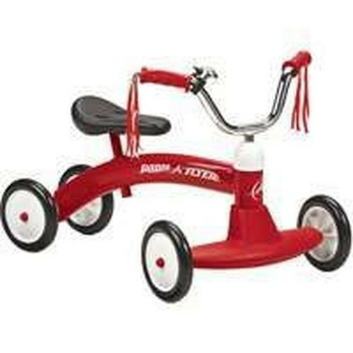 NEW IN BOX RADIO FLYER #20 RED SCOOT ABOUT RIDE ON FOOT TO FLOOR TOY SALE!!