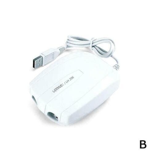Portable Air Pump Fishing Aerator Oxygenated Live Bait ABS Battery Aquarium X9Z7