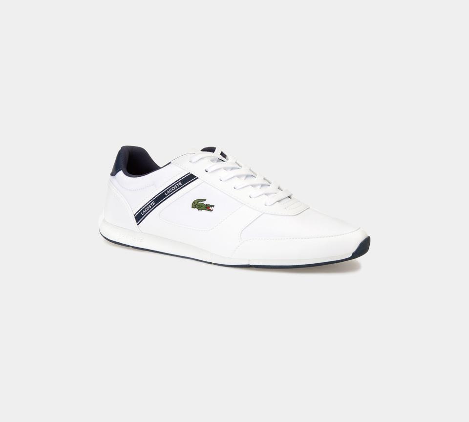 Men's Lacoste Menerva Sport Synthetic 7-37CMA0064042 Trainers White/Navy UK 6-11