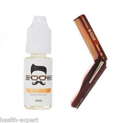 Mo Bros Beard Comb & Beard Conditioning Oil  - Styling Kit