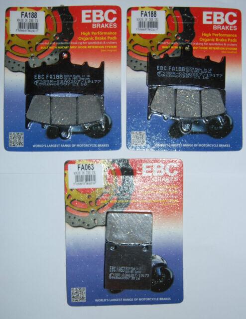 GSF1250 /> FULL SET SINTERED BRAKE PADS *GOLDFREN* 2011 SUZUKI GSF 1250 BANDIT