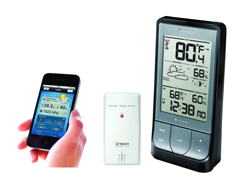 Oregon Scientific Bar218hg Outdoor Indoor Wireless Weather