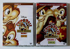 Disney Channel Series Chip and Dale Chip N Dale Rescue Rangers Volumes 1 & 2 DVD