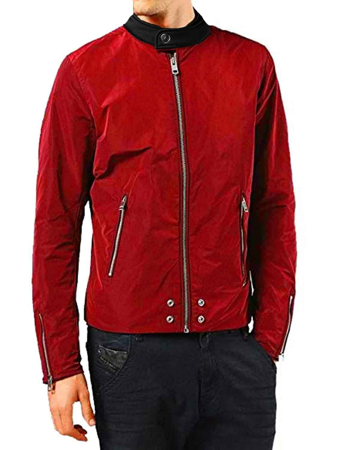 Diesel J-Edg Pulire Giacca men red