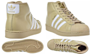 the best attitude 249ee 1b67d Image is loading Adidas-Pro-Model-Men-039-s-Shoes-Khaki-