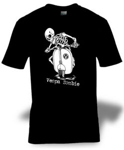 VESPA-ZOMBIE-t-shirt-SCOOTER-MOD-ENTHUSIAST-CLASSIC-TEE-S-M-L-XL-2XL-3XL