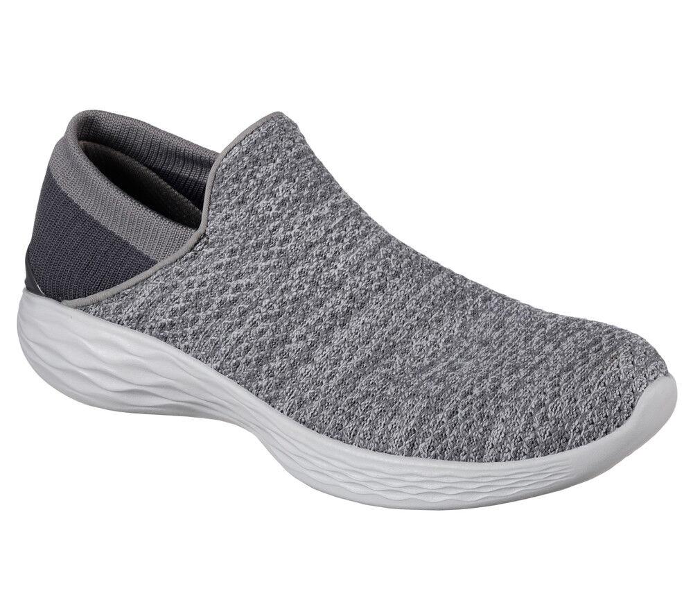 NEU SKECHERS Damen Sneakers Slipper YOU Sommerschuhe Freizeitschuhe  - YOU Slipper Grau 0bd43d
