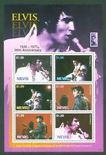 Nevis 2007 - Elvis Presley - 30. Todestag - 2217-22 - Live Konzerte Gitarre MNH