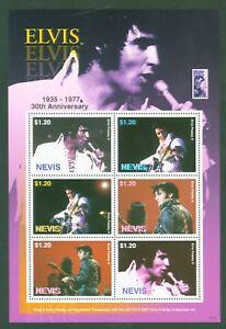 Nevis-2007-Elvis-Presley-30-Todestag-2217-22-Live-Konzerte-Gitarre-MNH