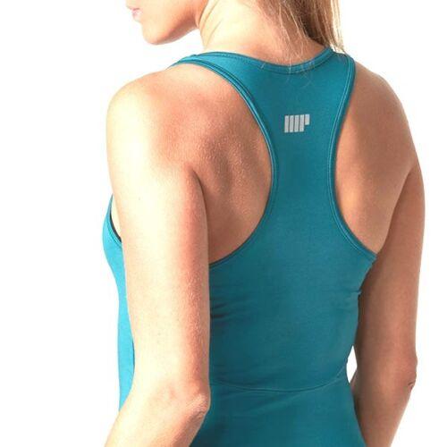 MyProtein Racer Back Top Türkis für Damen Sport Oberteil Shirt My Protein teal
