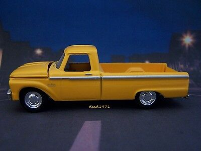 1965 65 FORD F-100 PICKUP TRUCK 1/64 SCALE COLLECTIBLE MODEL DIORAMA OR DISPLAY